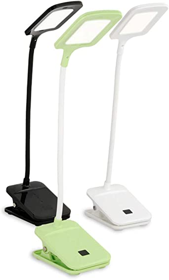 3 Modos Clip De Lámpara De Mesa Atenuación Plegable Sensor Táctil ...