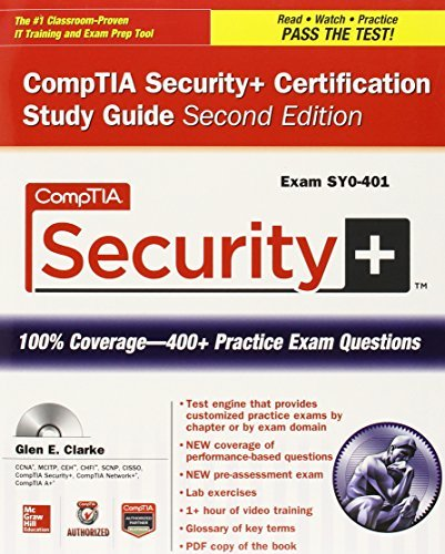 Read Online By Glen E. Clarke - CompTIA Security+ Certification Bundle, Second Edition (Exam SY0- (2nd Edition) (2014-09-06) [Paperback] pdf