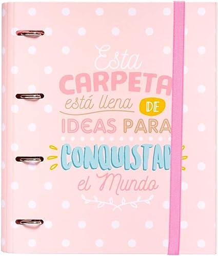 Grupo Erik Editores CAT0016 - Carpeta 4 Anillas Troquelada Premium ...