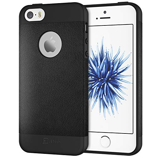 JETech Case for iPhone SE 5s 5 Protective Cover with Logo Cut-Out (Best Jetech Iphone 5 Cases)