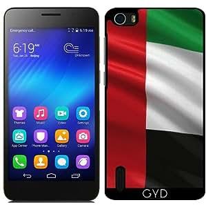 Funda para Huawei Honor 6 - Bandera De United Arab Emirates by Carsten Reisinger