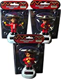 Solar Mariachi Band Pack of 3 the Complete Solar Mariachi Band No Batteries Needed by Momentum Brands