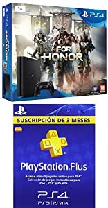 PlayStation 4 Slim (PS4) 1TB - Consola + For Honor + PSN Plus ...
