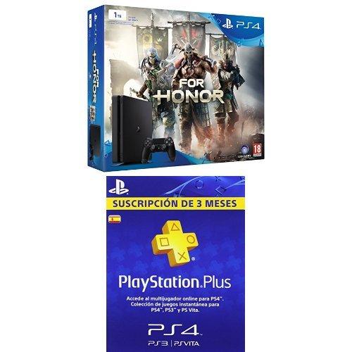 PlayStation 4 Slim (PS4) 1TB - Consola + For Honor + PSN ...