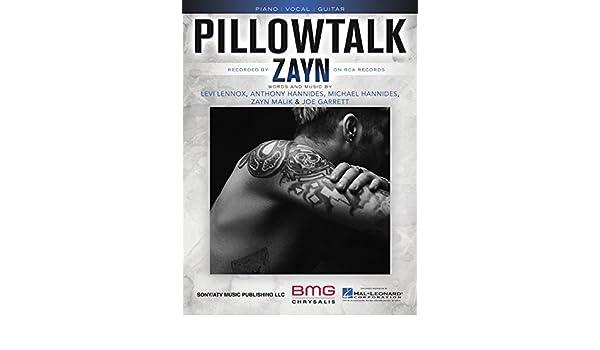 Amazon Zayn Pillowtalk Sheet Music Single Musical Instruments