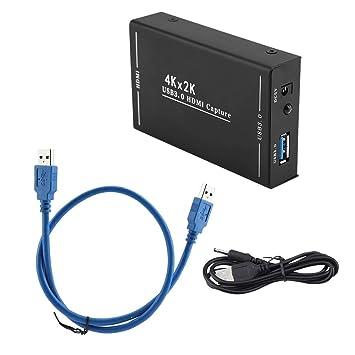 Denash 4K * 2K USB3.0 HDMI a HDMI Salida HD Grabadora de ...