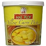 Mae Ploy Thai Yellow Curry Paste - 14 oz jar by Mae Ploy