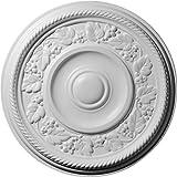 Ekena Millwork CM16TY 16 1/8-Inch OD x 2 7/8-Inch ID x 3/4-Inch Tyrone Ceiling Medallion