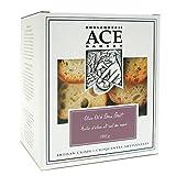 ACE Bakery Premium Crackers, Olive Oil & Sea Salt Large Crisps, 180g