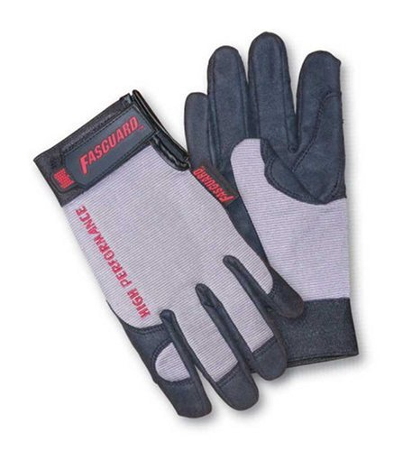 ulti-task Clarino Synthetic Fabric Glove with Reinforced Thumb Pad, 1-Pair, Large (Clarino Leather)