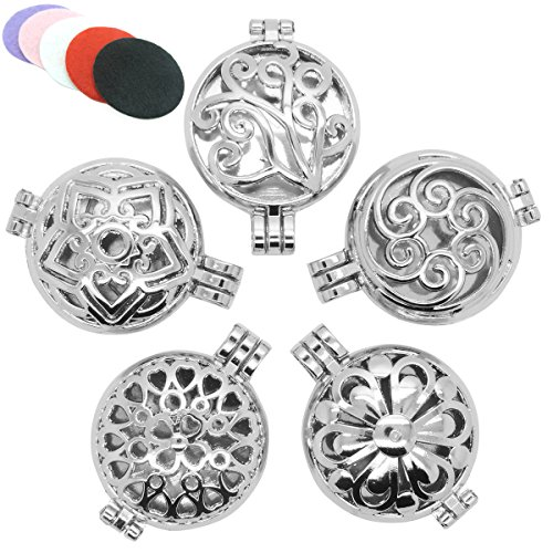 Stainless Essential Aromatherapy Diffuser Necklace product image