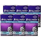 Ceva Feliway Plug-In Diffuser Refill, 48 mL, 6-Pack