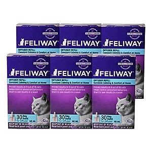 Feliway Plug-In Diffuser Refill, 48 mL, 6-Pack 37
