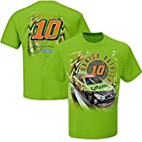 Danica Patrick #10 Go Daddy NASCAR Adult Speedbolt T-Shirt-Lime Green-XL