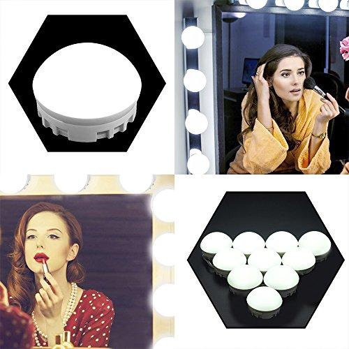 Tomshine LED Vanity Mirror Lights Kit, Hollywood Style Makeup Bulbs for Makeup -