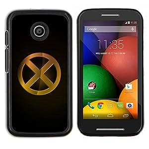 """Be-Star Único Patrón Plástico Duro Fundas Cover Cubre Hard Case Cover Para Motorola Moto E / XT1021 / XT1022 ( X"""" )"""
