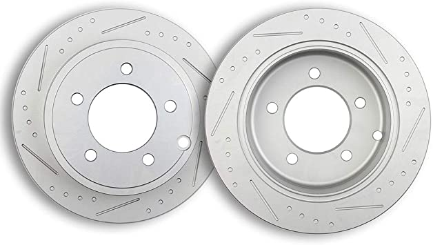 2008 2009 2010 2011 for Dodge Avenger Front /& Rear Brake Rotors and Pads