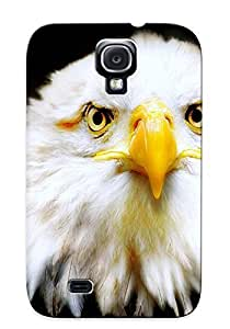 Freshmilk Hot Tpye Bald Eagle Case Cover For Galaxy S4 For Christmas Day's Gifts
