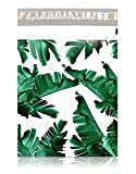 "[ 100-10"" X 13"" ] Tropical Banana Leaves Custom Poly Mailer Envelope Shipping Bags, Tear Proof & Powerful Self Seal Adhesive Postal Bags (Other Designs Available) - Pack It Chic"