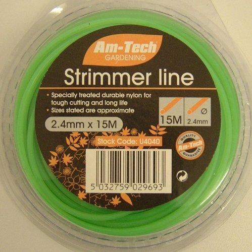 Amtech U4040 Trim Line, 15 m x 2.4 mm Am-tech