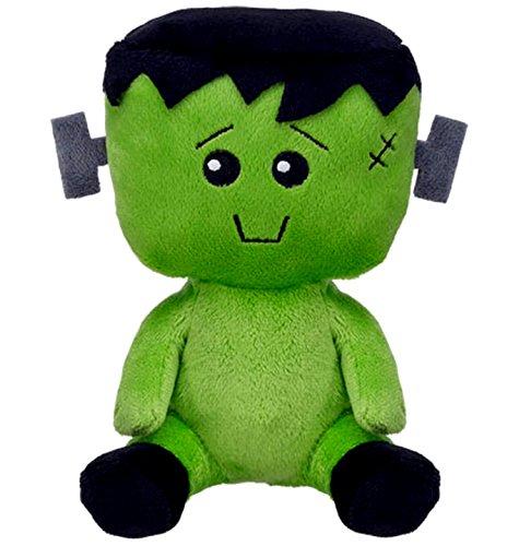 Build a Bear Workshop Mr Monster Green Halloween SF Smallfrys 7 in. Mini Stuffed Plush Toy Animal