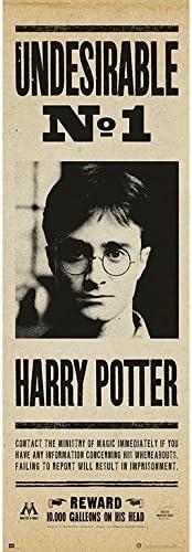 Todo para el streamer: Grupo Erik Editores Poster Puerta Harry Potter Undesirable Nº1