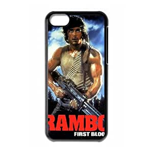 First Blood iPhone 5c Cell Phone Case Black tmq wziw