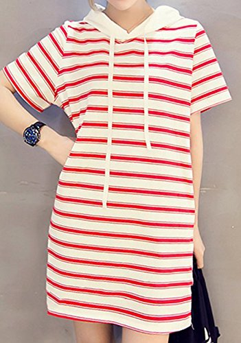 Zrqzpfna At Erdbeerloft Opaco Rojo Teachable Vestido Mujer Para wxHXYqHr