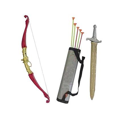 Amazon.com: Kids Toy Children Bows Sword Shield Combination ...