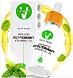 Peppermint Essential Oil Natural Pure Therapeutic Oils Not Food Grade Glass Dropper Bottle Aromatherapy Undiluted Above Organic Rosemary Jojoba Home Care Now Living Solutions Cleaner Bug Repellent 3oz