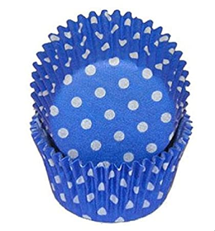 Blue Light Glassine Mini Cupcake Liners Baking Cups Grease Proof Birthday Home, Furniture & DIY