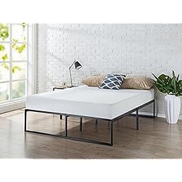 Zinus 14 Inch Platforma Bed Frame/Mattress Foundation/No Box Spring Needed/Steel Slat Support