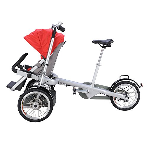 3 In 1 Stroller Tricycle - 6
