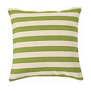 Dash & Albert 22 x 22 in. Fresh American Trimaran Stripe Indoor/Outdoor Pillow
