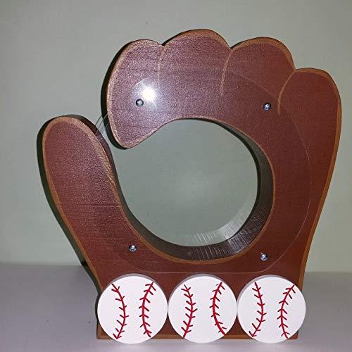 Personalized Baseball Bank - Customized/Personalized Baseball Glove Bank.