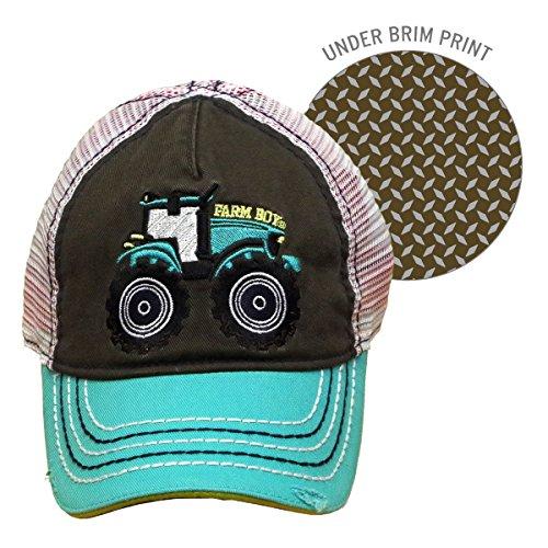 Farm Boy Tractor Baby/Kids Mesh -