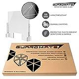 GuardMate Plexiglass Shield Premium Commercial
