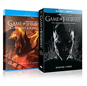 Cover Image for 'Game of Thrones: The Complete Seventh Season w/ Conquest & Rebellion [Blu-ray + Digital]'