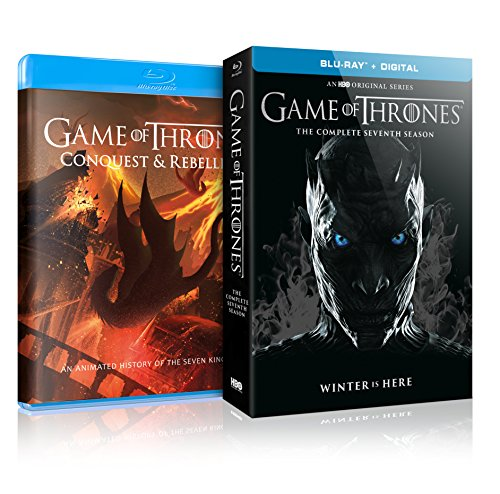 Game of Thrones : S7 (Conquest&Rebellion + Blu-Ray)