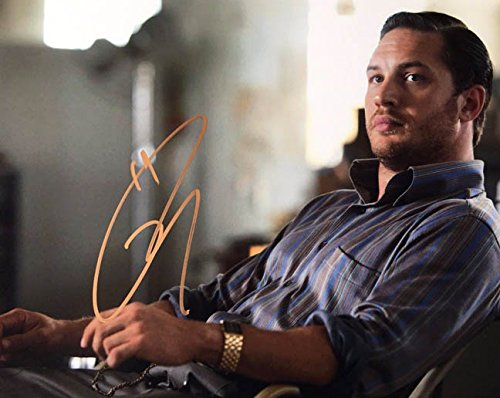 TOM HARDY - Inception - Signed 8x10 Photograph MINT with COA & Proof Picture