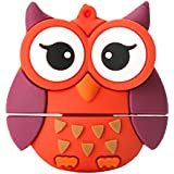MonkeyJack Fashion USB 2.0 Memory Stick Flash Pen Drive Owl Animal Shape Data Storage 128GB