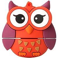 MonkeyJack Fashion USB 2.0 Memory Stick Flash Pen Drive Owl Animal Shape Data Storage 256GB