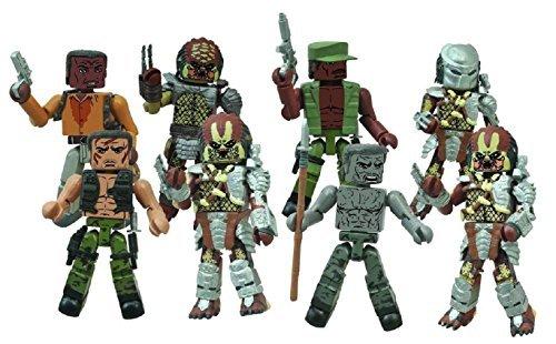 Predators Series 1 Complete Set of 4 Minimates 2-packs