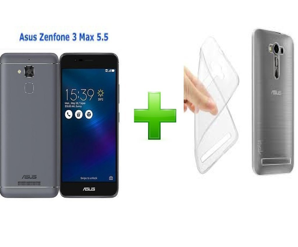 info for d06f0 91f4c helix Combo Set of Transparent Back Cover with Tempered Glass for ASUS  ZenFone 3 Max (ZC553KL) X00DDB 5.5-inch