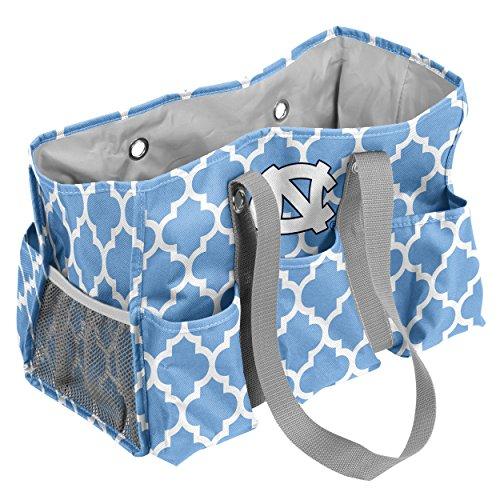 North Carolina Nfl - Logo Brands North Carolina Tar Heels Patterned Multi-Pocketed Junior Caddy