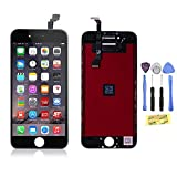 """ZTR LCD Touch Screen Digitizer Frame Assembly Full Set LCD Touch Screen Replacement for iPhone 6 4.7"""" - Black"""