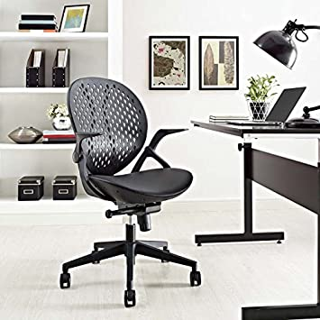 Superb Modway Stellar Vinyl Office Chair In Black Ocoug Best Dining Table And Chair Ideas Images Ocougorg