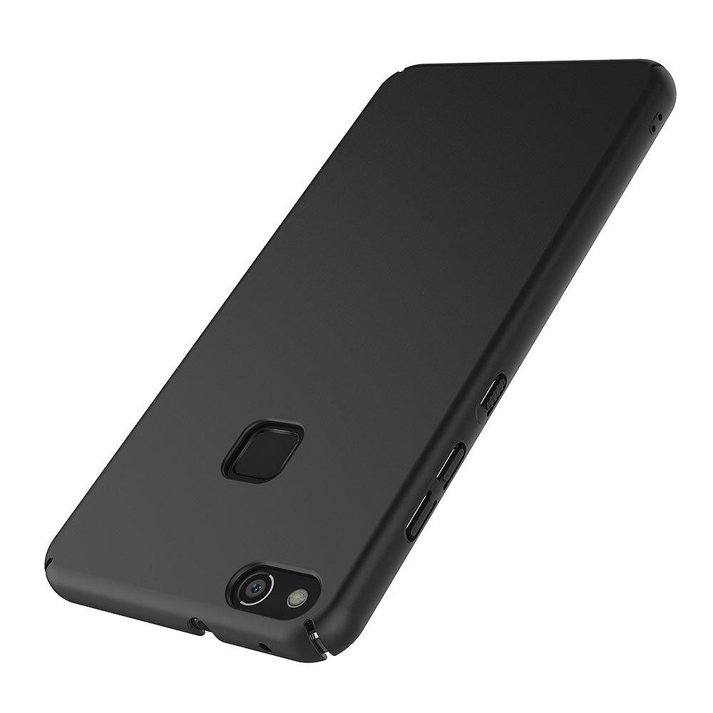 AICEK Funda Huawei P10 Lite, Negro Dura Ultra Slim Fundas para ...