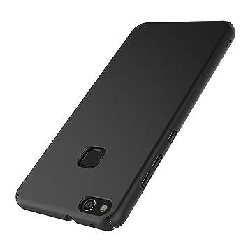 1f02036e5db AICEK Funda Huawei P10 Lite, Negro Dura Ultra Slim Fundas para Huawei P10  Lite Carcasa Negro Dura Funda Case (5,2 Pulgadas): Amazon.es: Electrónica