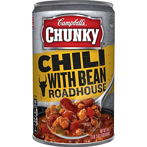Campbell's Chunky Chili, Beef & Bean Roadhouse, 19 Ounce (Pack of 4)